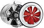 Axial and in-line fans