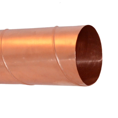 Photo of product Copper sheet round spiral ducts