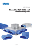 Installation manual - FLX-REKU OVAL Air Distribution System
