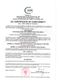 Certificate of Constancy of Performance - Fire Damper CFDM & CFDM-V