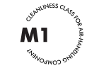 Ductwork cleanliness standards with M1 classification