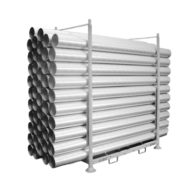 Photo of product Storage racks for spiro ventilation ducts