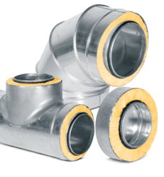 Photo of product family: Ducts and fittings insulated with mineral wool
