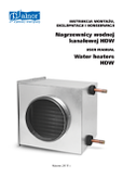 User's Manual - Water Heater HDW