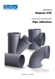 Manual - How to glue PVC ventilation pipes and fittings